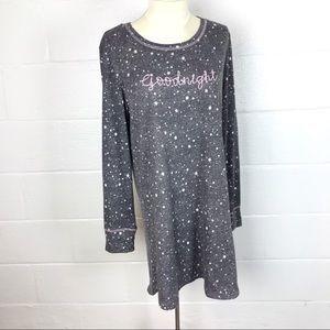 Laura Ashley soft cozy pajamas nightgown sz L